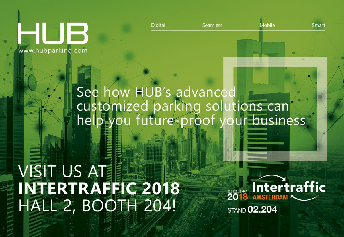 VISIT US AT INTERTRAFFIC 2018 HALL 2, BOOTH 204!